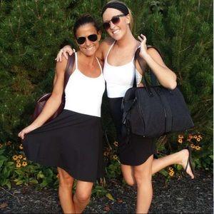 Lululemon Power Play Dress White / Black